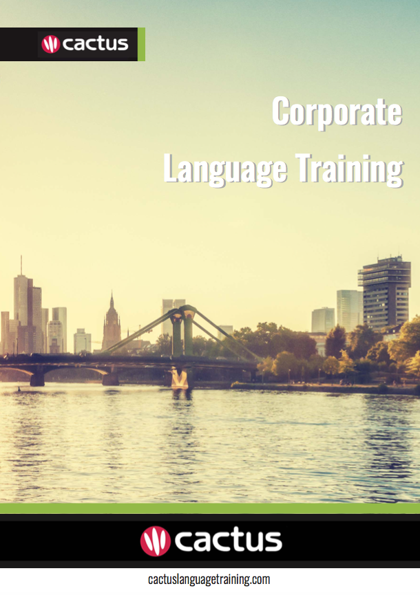 Cactus Language Training Brochure