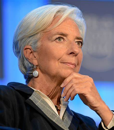 business french leader Christine lagarde